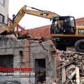 Снос здания из кирпича