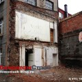 Часть здания демонтирована