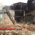 Демонтаж кирпичного здания